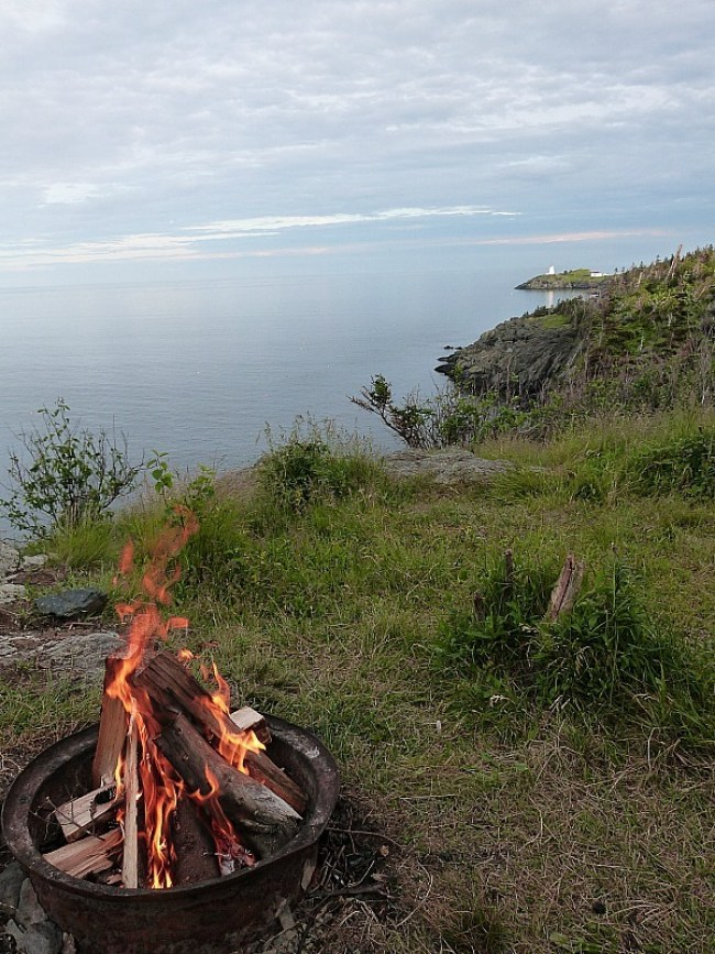 View from our campsite on Grand Manan Island