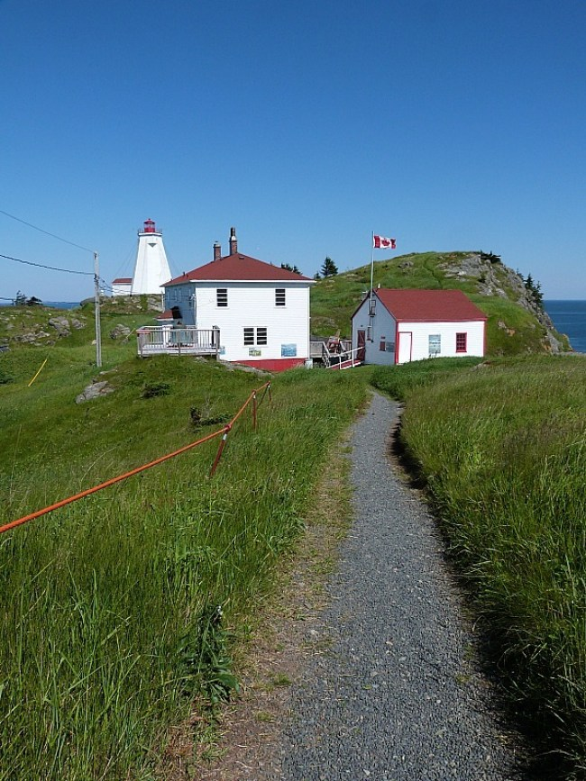 Swallowtail Lighthouse buildings on Grand Manan Island