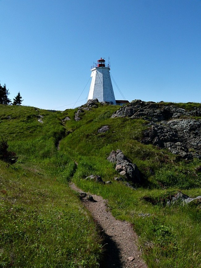 Swallowtail Lighthouse on Grand Manan Island