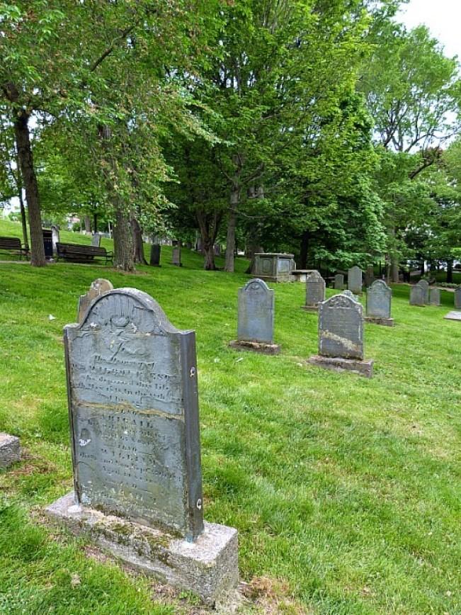 Old Burial Ground in Saint John, New Brunswick