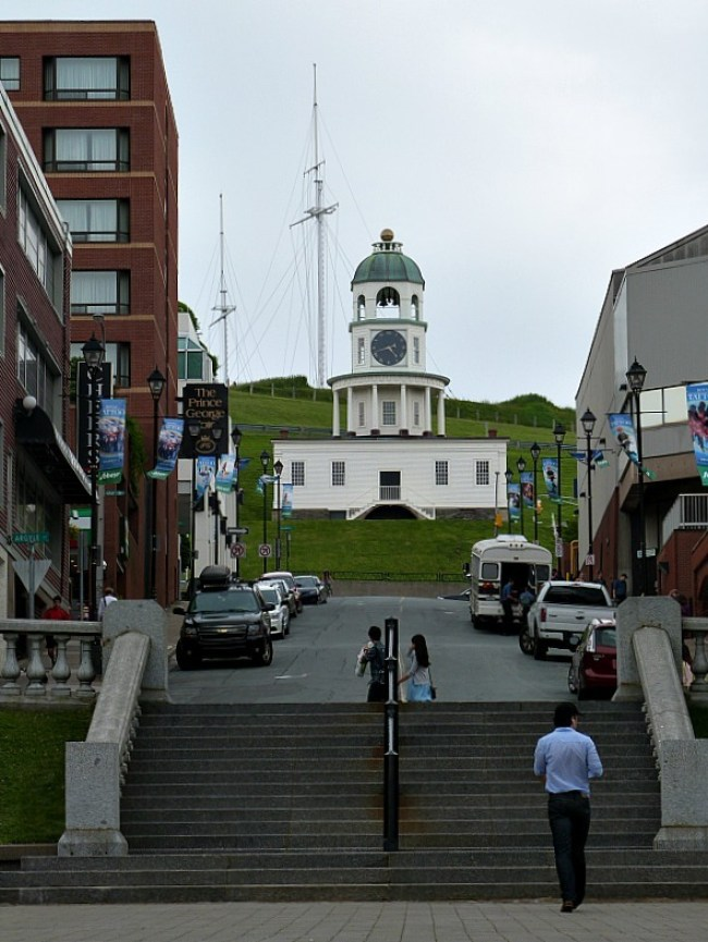 Downtown Halifax in Nova Scotia