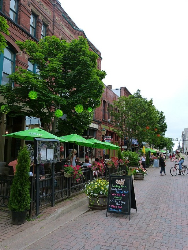 Downtown Charlottetown on Prince Edward Island