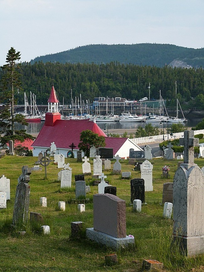 Beautiful Tadoussac in Quebec
