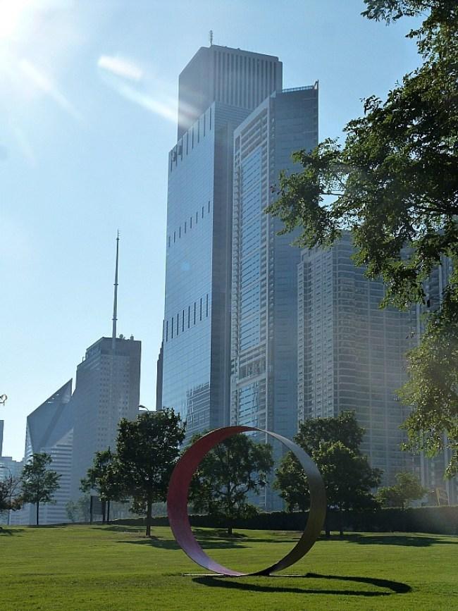 Modern art in Chicago