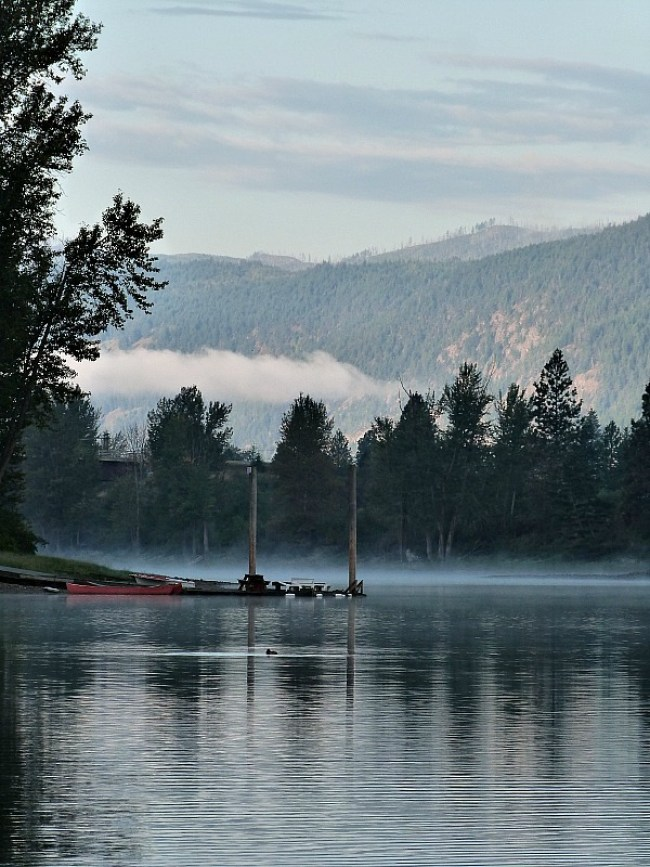 Shuswap Lake in British Columbia, Canada