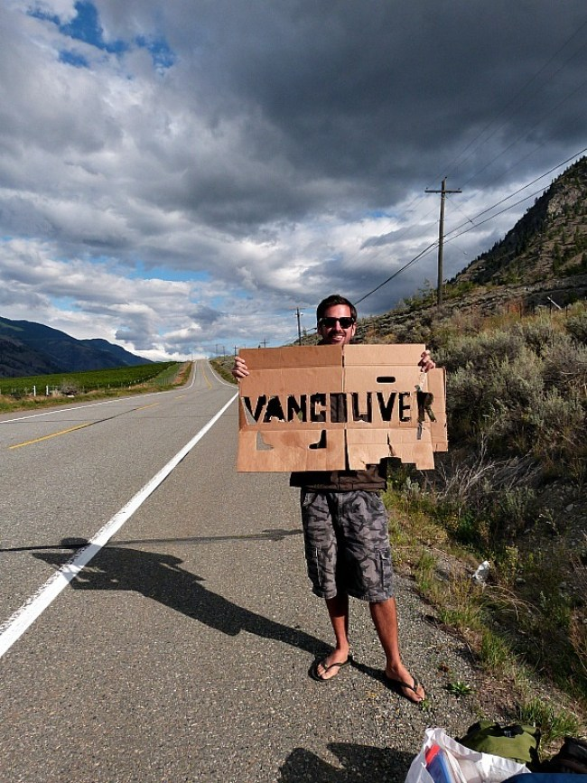 Hitchhiking to Vancouver from the Canadian Desert - away from our Help X Nightmare