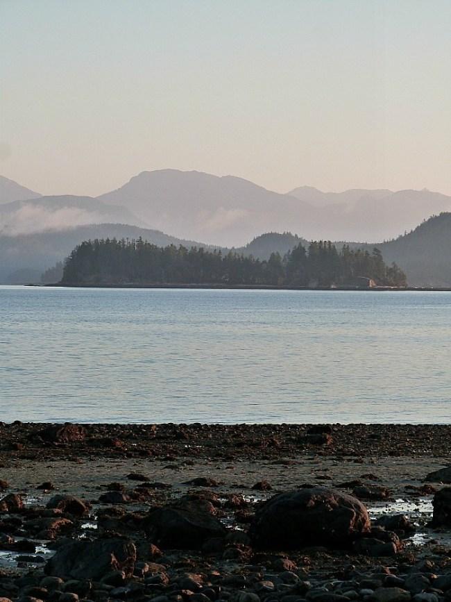 Beautiful Heriot Bay on Quadra Island, Canada