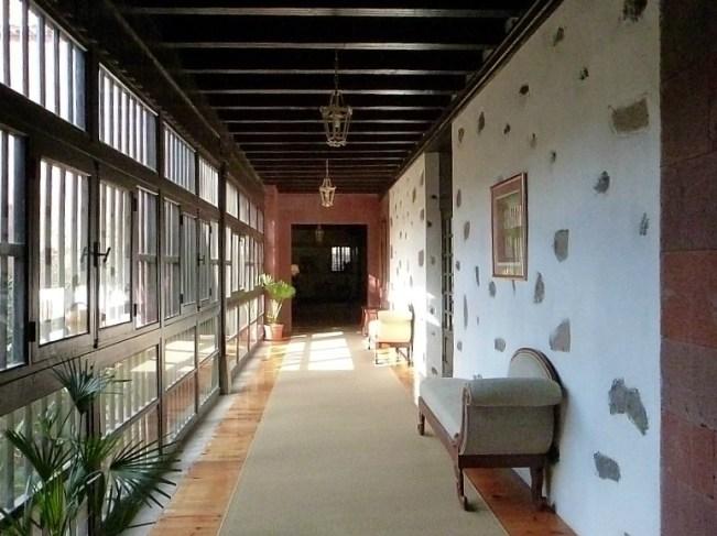 Our hotel in San Sebastian de la Gomera on La Gomera in the Canary Islands
