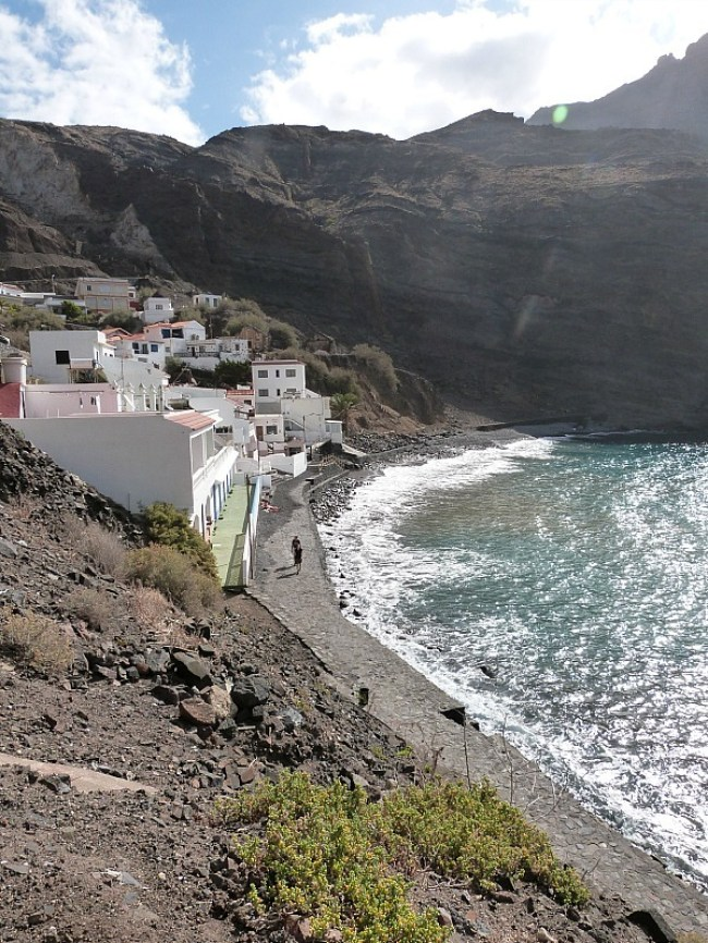 Alojera on La Gomera, in the Canary Islands of Spain