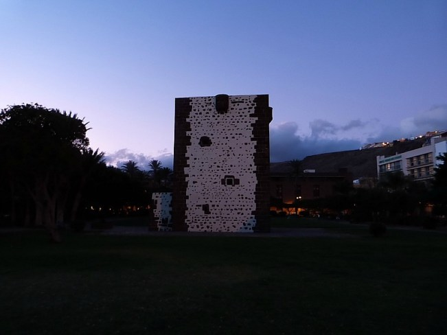 Fort on La Gomera in the Canary Islands of Spain