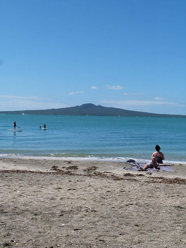 Swimming at Auckland's city beaches - one of the Best Auckland Activities