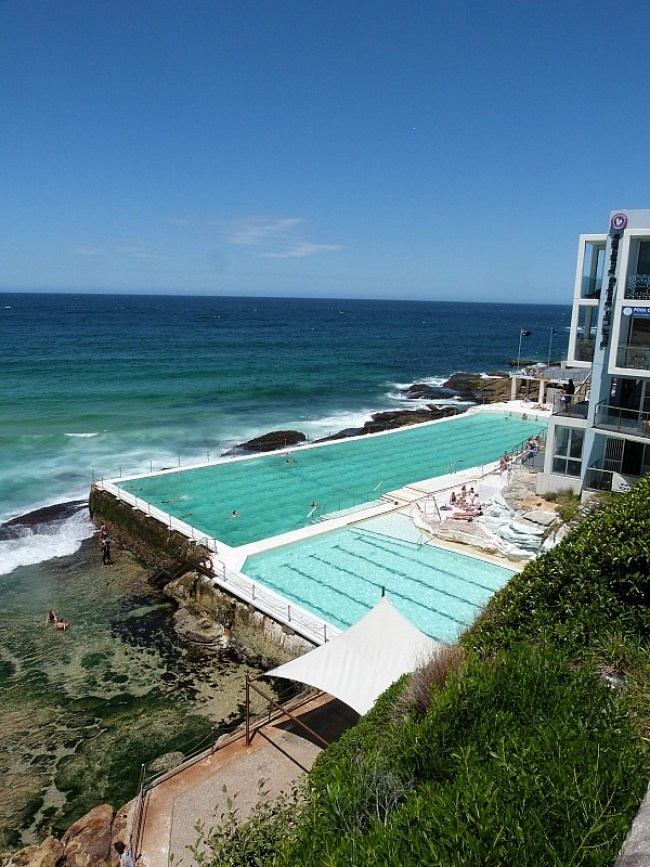 Bondi Icebergs pool on Sydney's Eastern Beaches