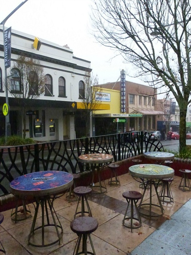 Downtown Katoomba in the Blue Mountains of Australia