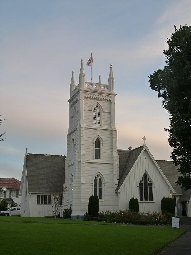 Visiting the church I was Christened in in Auckland on a visit back home to New Zealand