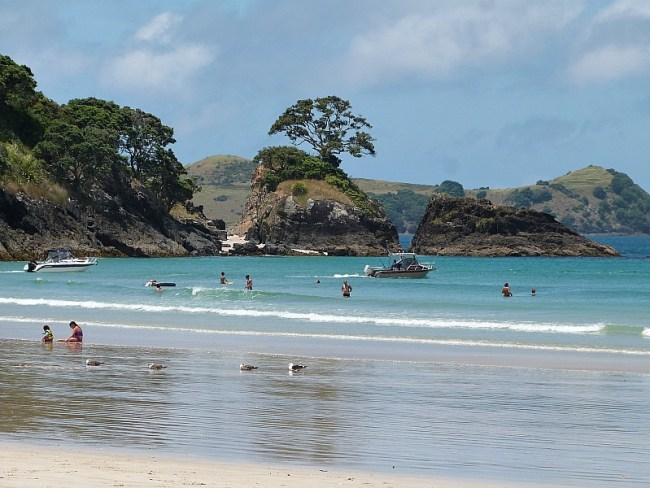 Matauri Bay in Northland, New Zealand
