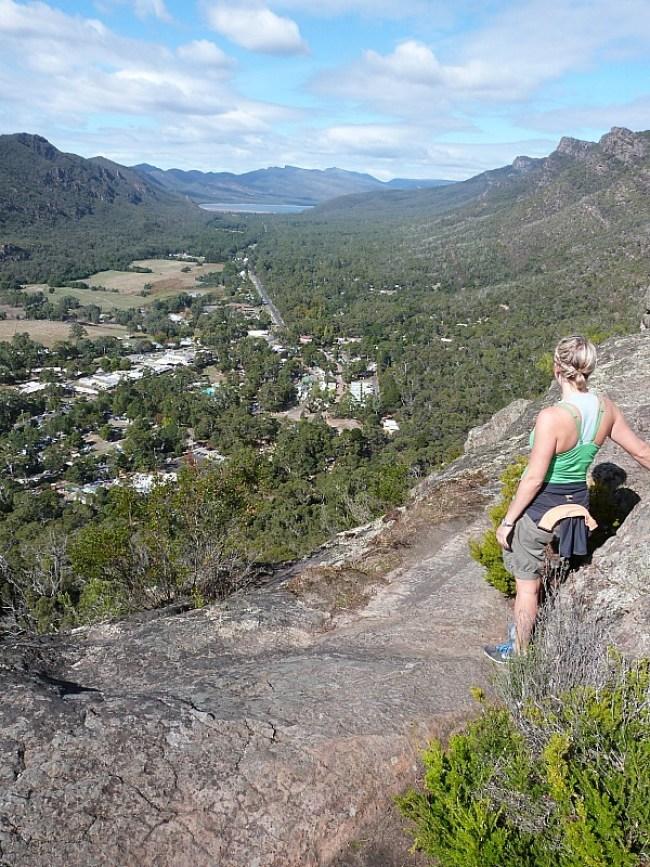 View from Chatauqua Peak in Grampians National Park, Australia