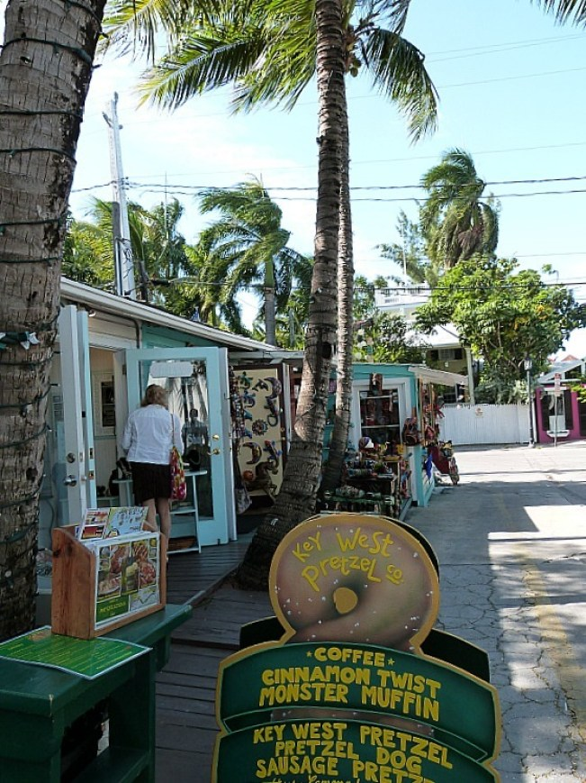 Eclectic shops in Key West Florida