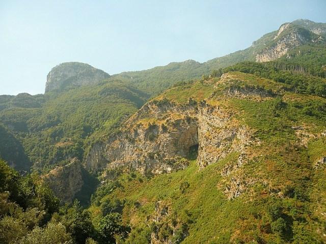 Amazing mountain views on the Amalfi Coast in Italy
