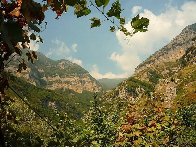 Amazing views on the Amalfi Coast in Italy