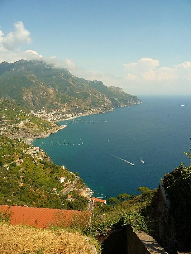 Hiking from Ravello down to Minori on the Amalfi Coast of Italy