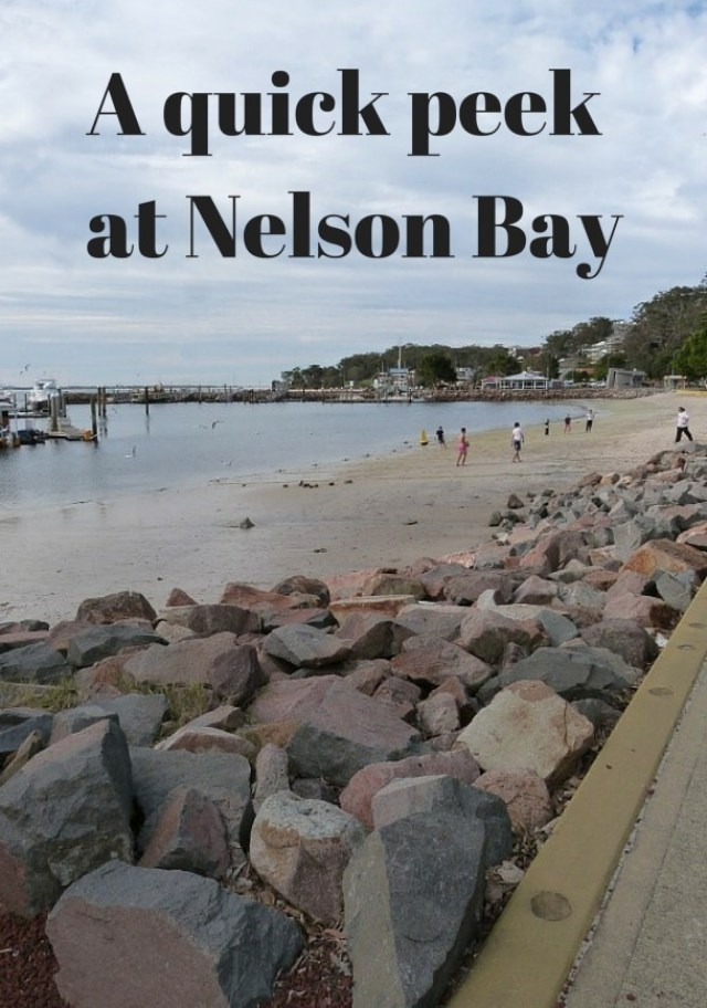 A quick peek at Nelson Bay in New South Wales