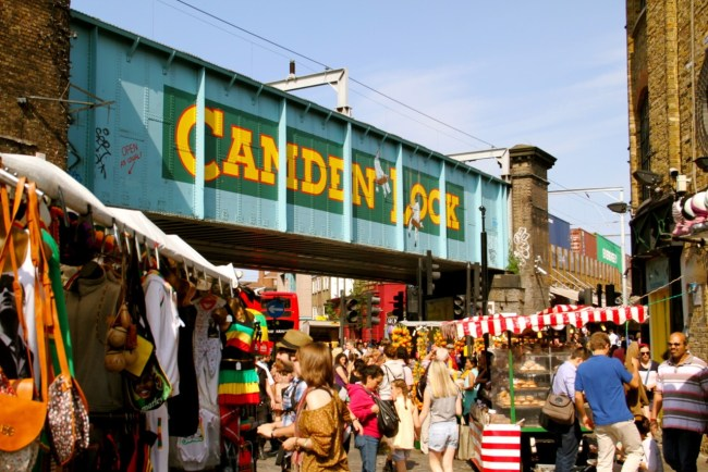 Camden Market - one of the best markets in London