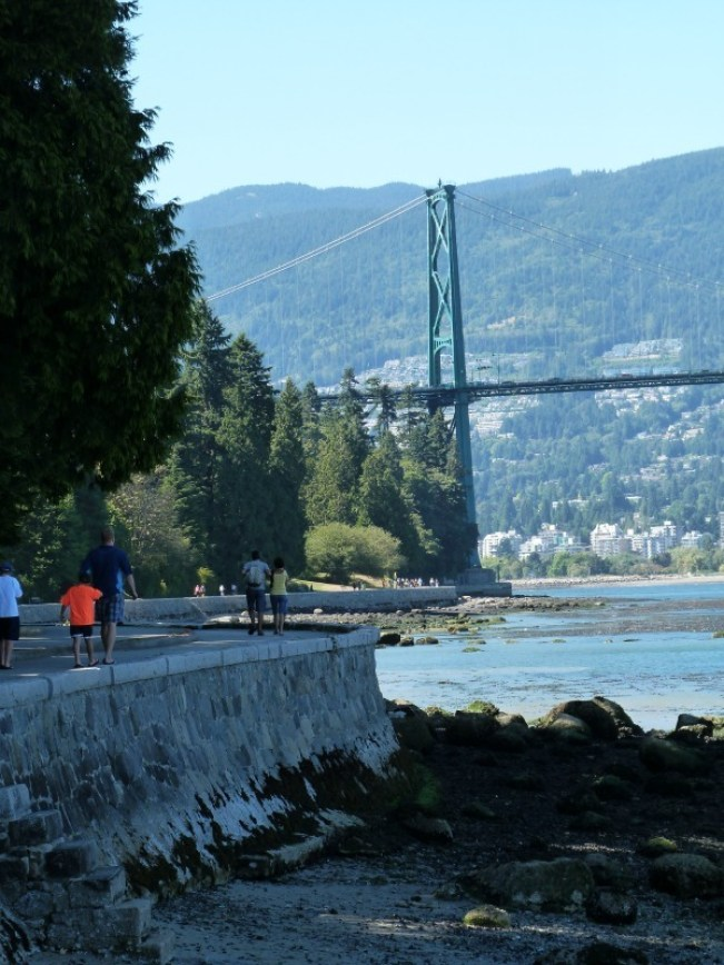 Stanley Park in Vancouver - one of my favorite places in the world