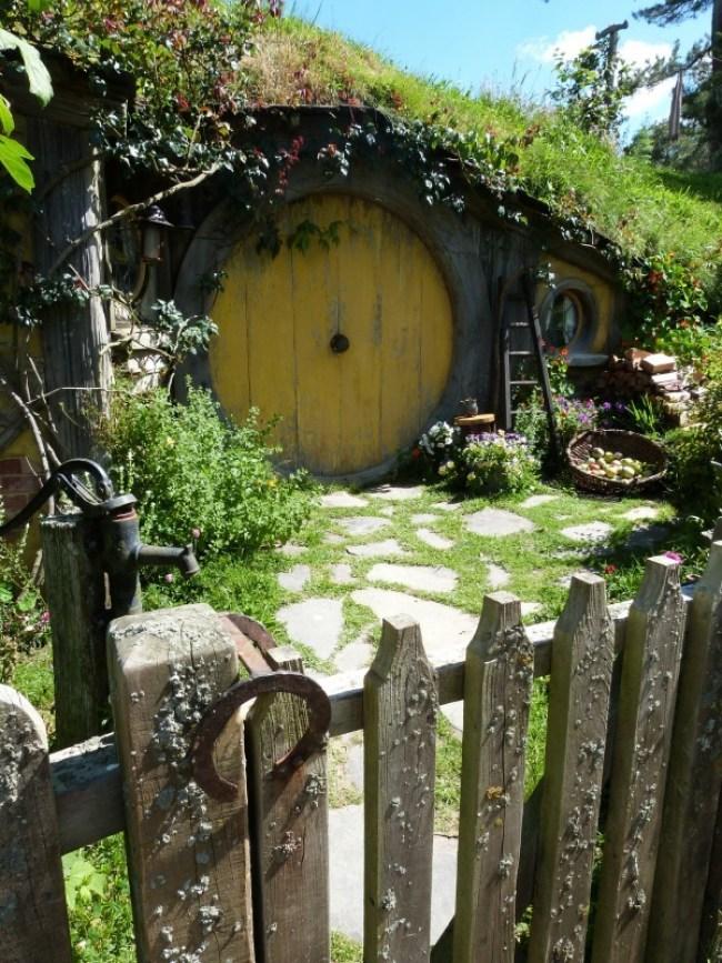 Hobbit hole of Samwise at Hobbiton