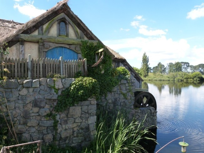 The Old Mill at Hobbiton New Zealand