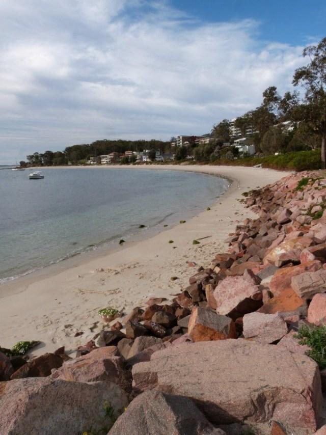 Beach in Nelson Bay Australia