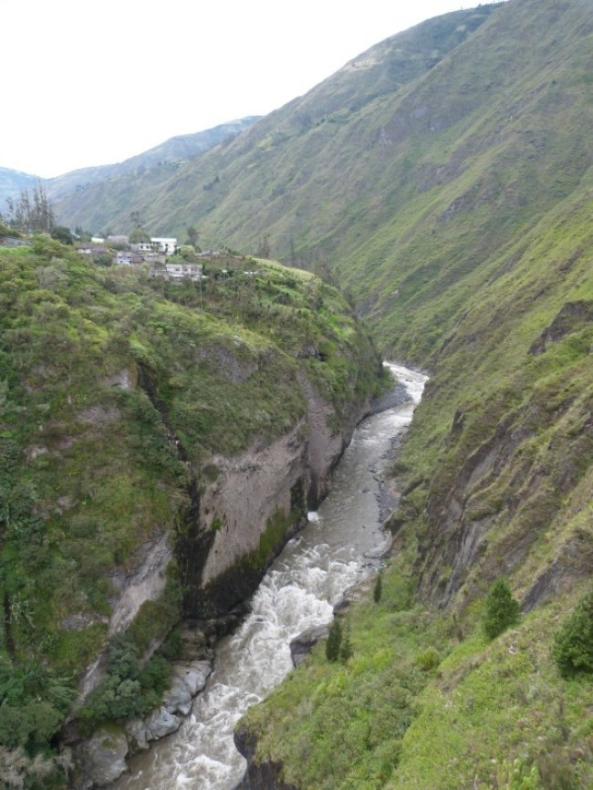 Banos, Ecuador - one of the 10 Best Offbeat Places in South America