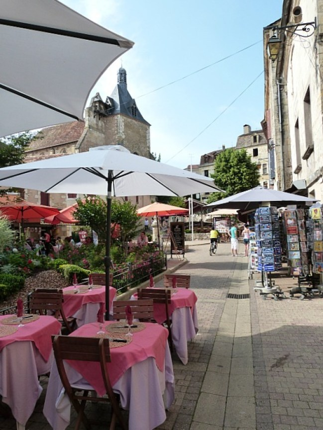 Wandering the cobbled streets of Bergerac in the Dordogne Region of France