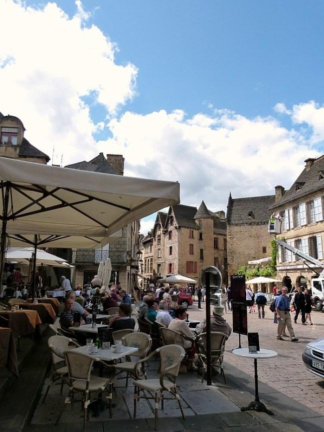 Sarlat-la-Canéda in the Dordogne Region of France