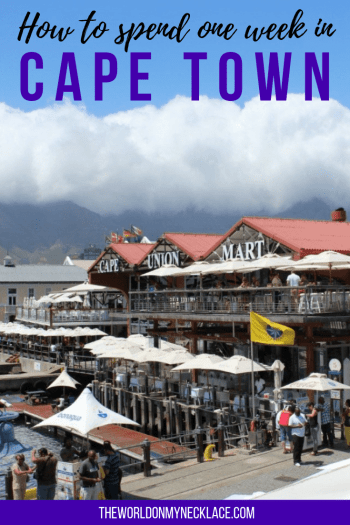 How to Spend One Week in Cape Town
