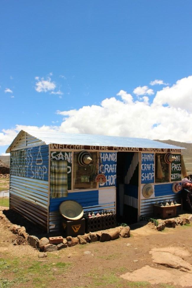 Handicrafts in Sani Top Lesotho
