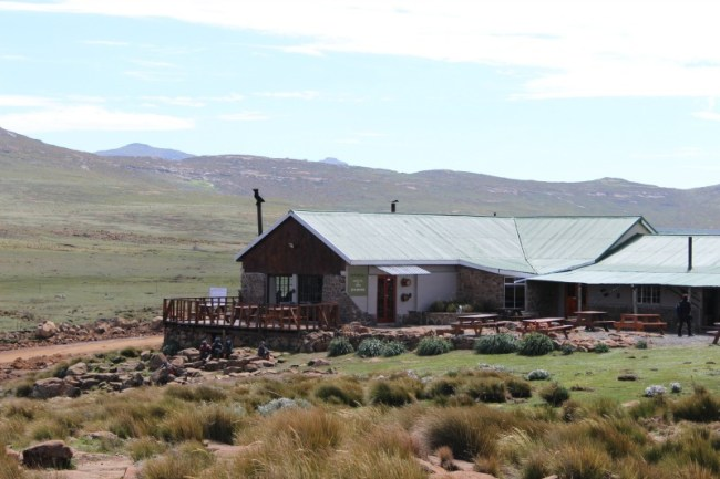 Sani Mountain Lodge in Lesotho