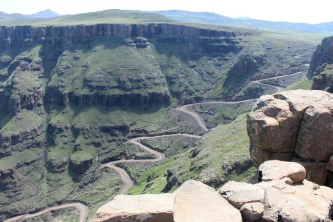 Sani Pass in Lesotho