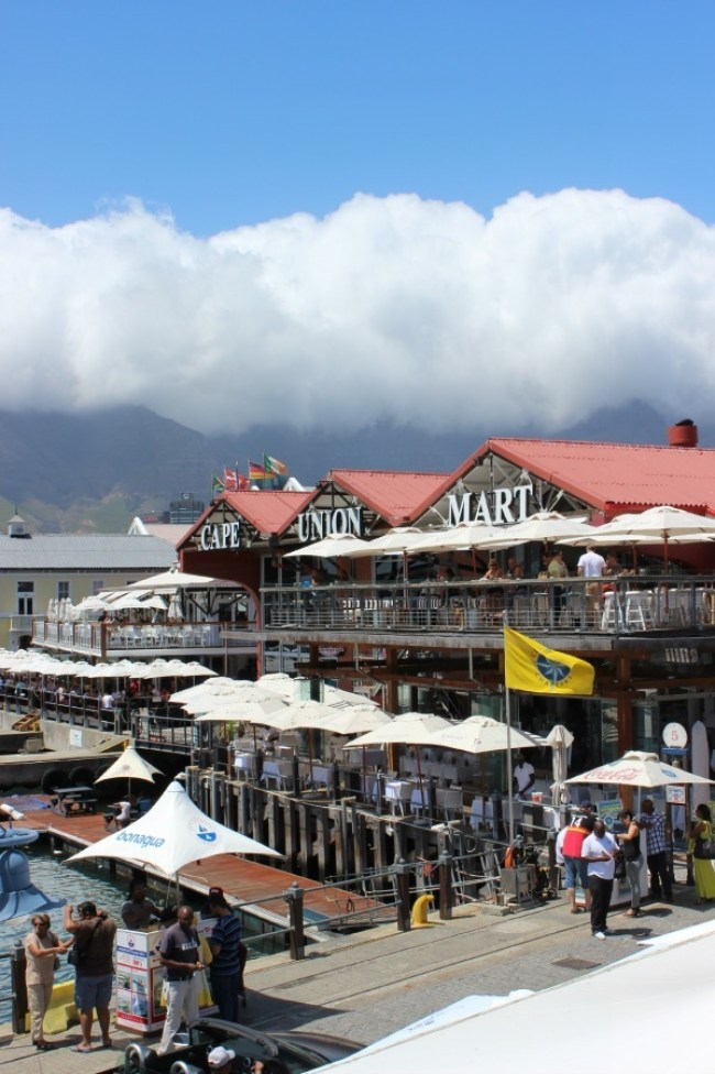 Wandering the V&A Waterfront - a great addition to your Cape Town 1 Week Itinerary