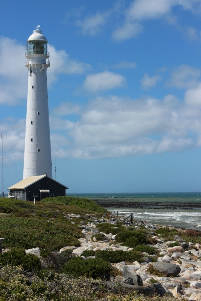 Slangkop lighthouse in Cape Town, South Africa
