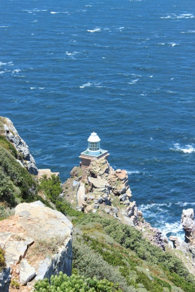 View from Cape Point Lighthouse in South Africa