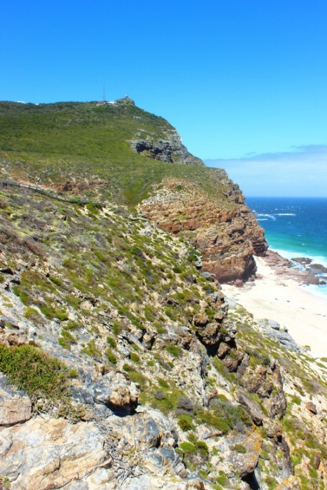 Hiking to the Cape of Good Hope in South Africa