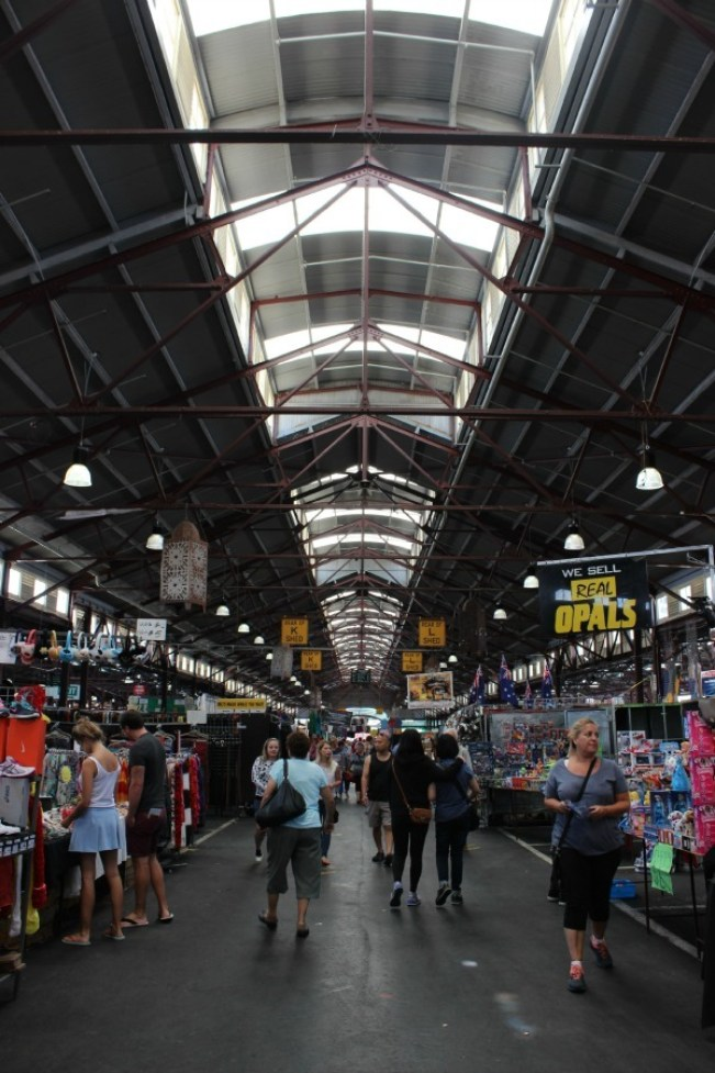 The historic Queen Vic Market in Melbourne Australia