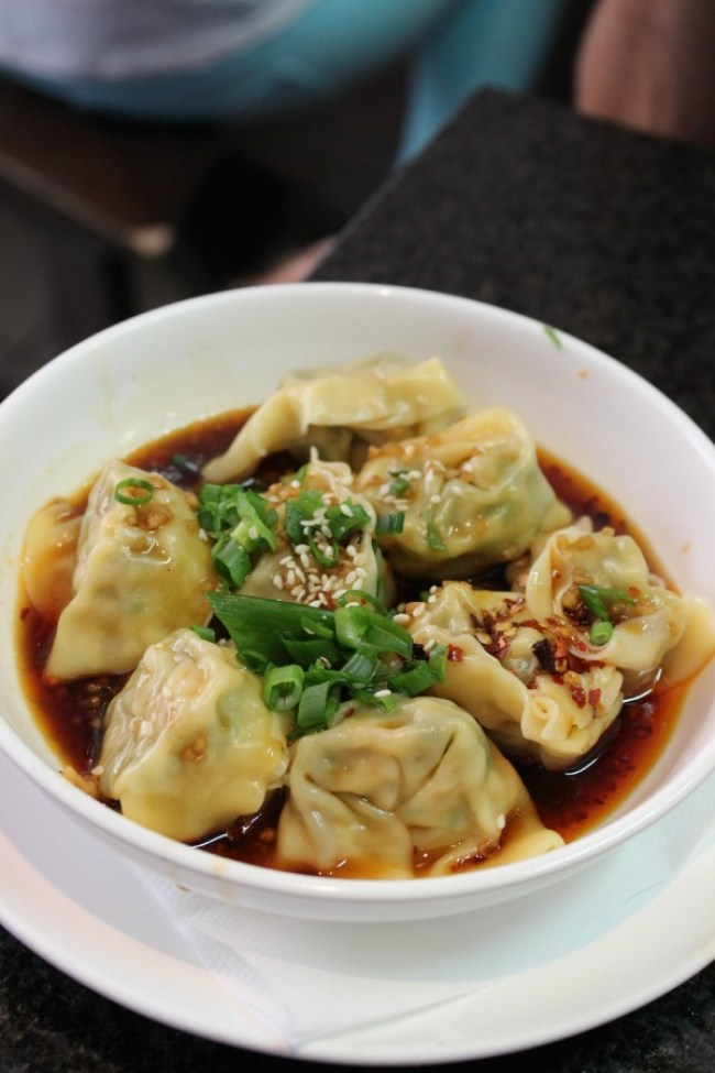 Dumplings at HuTong Dumpling Bar in Melbourne's China Town