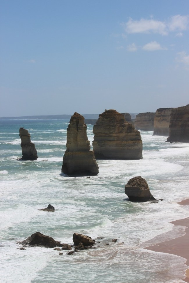 The Twelve Apostles on the Great Ocean Road
