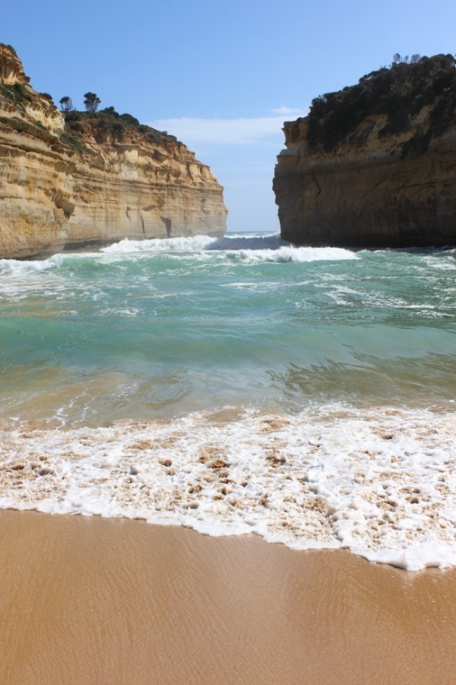 Beautiful coastline on Australia's Great Ocean Road