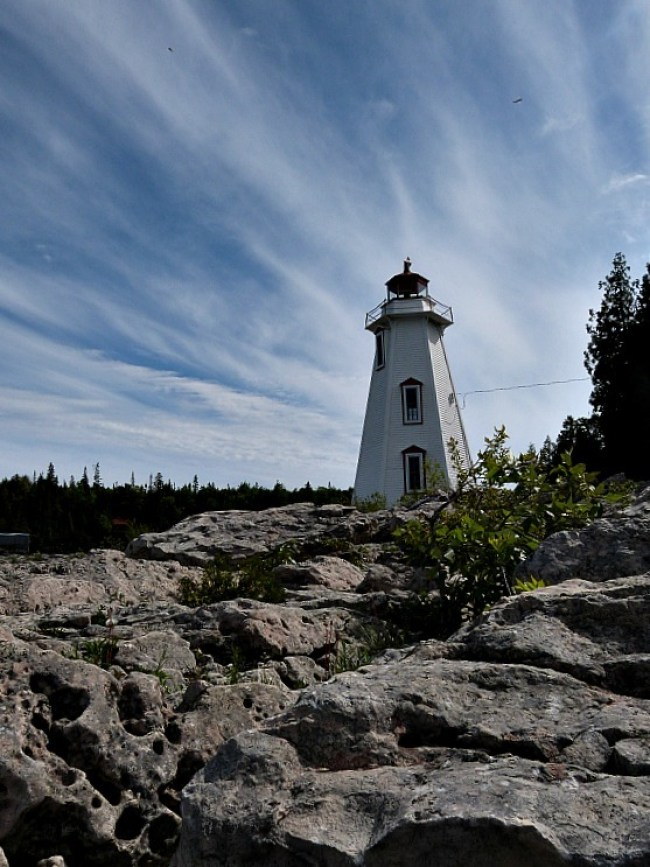 Big Tub Lighthouse in Ontario, Canada - one of my favorite lighthouses