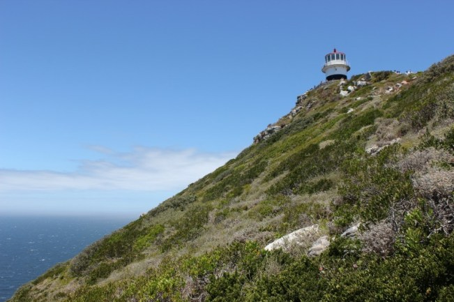 Cape Point Lighthouse in South Africa - one of my favorite lighthouses