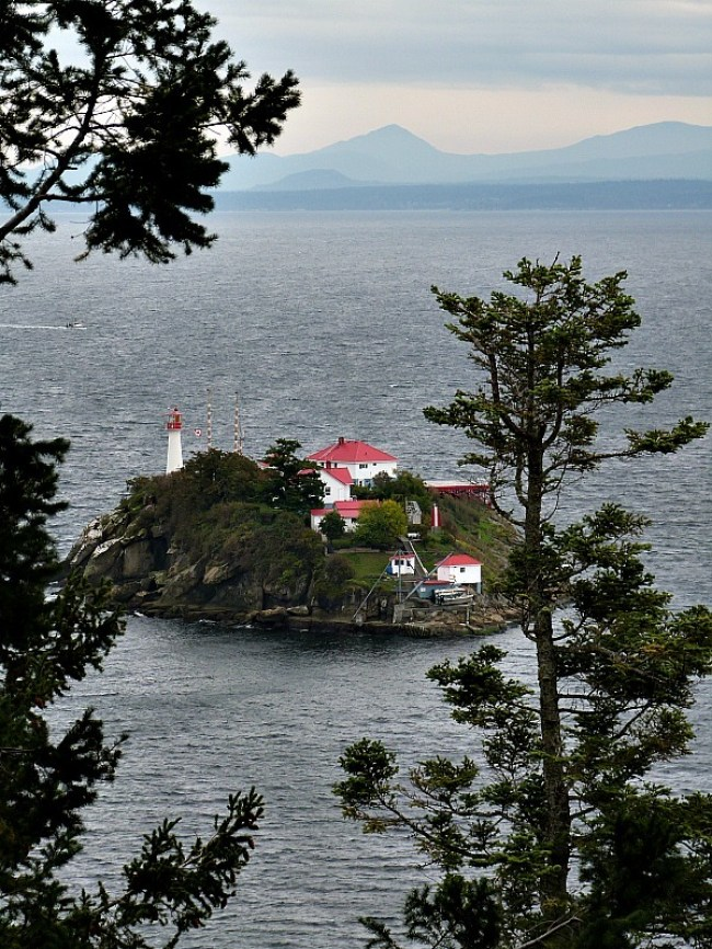 Chrome Island in British Columbia, Canada - one of my favorite lighthouses
