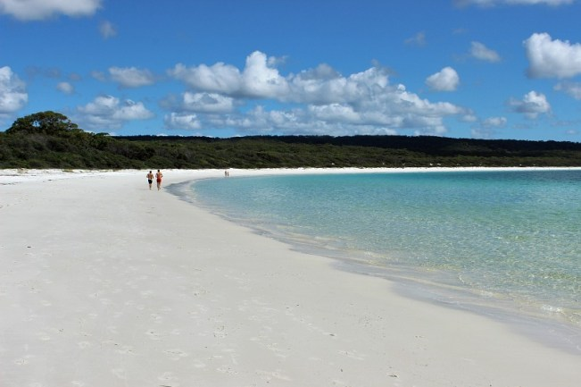 Hyams Beach in Jervis Bay