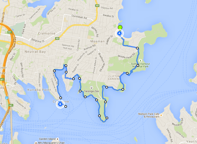 Balmoral to Cremorne Point - one of the best Sydney walks